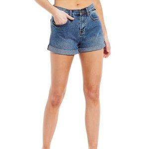 Billabong Cuffed Jean Shorts